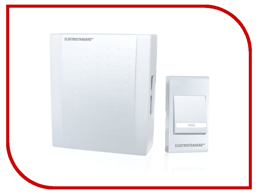 Звонок дверной Elektrostandard DBQ15 WM 1M IP44 White