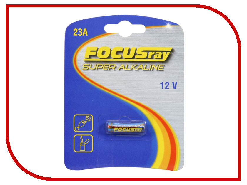 Батарейка A23 - FOCUSray 23A/BL1