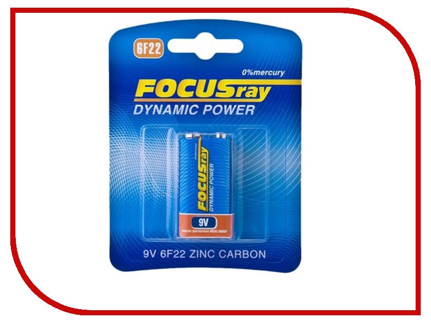Батарейка КРОНА FOCUSray 6F22/BL1