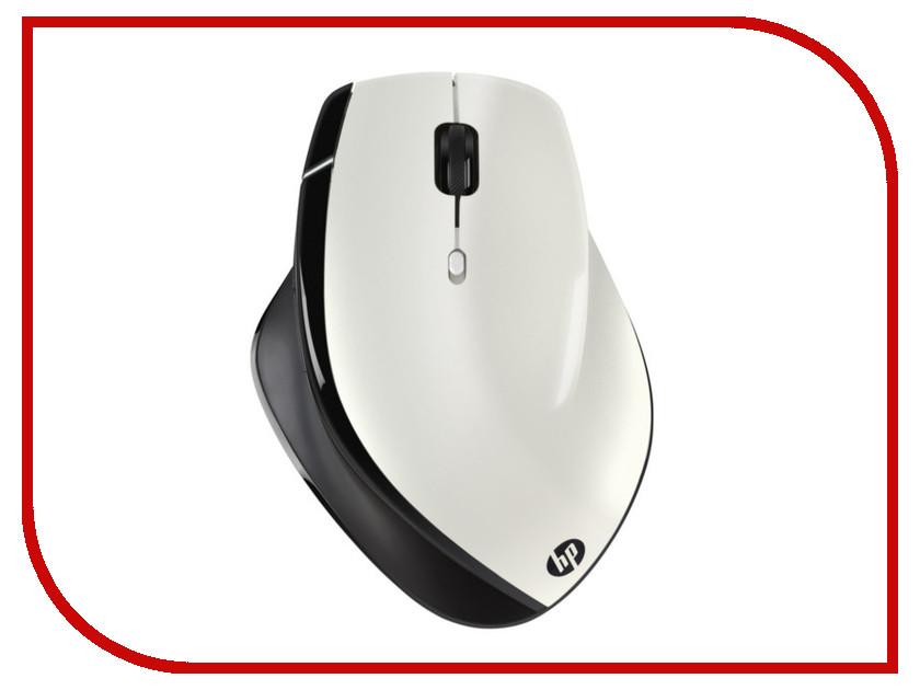 где купить  Мышь HP X7500 Black-White H6P45AA  дешево