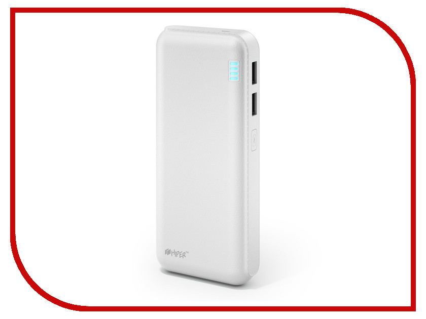 Аккумулятор HIPER Power Bank SP12500 12500mAh White