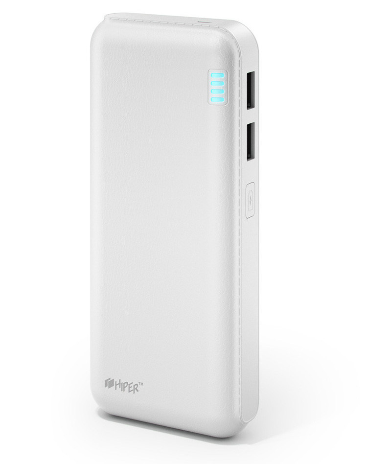 Внешний аккумулятор Hiper Power Bank SP12500 12500mAh White