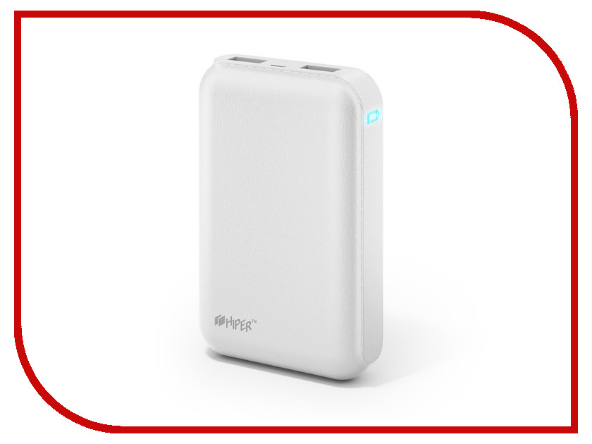 Аккумулятор HIPER Power Bank SP7500 7500mAh White