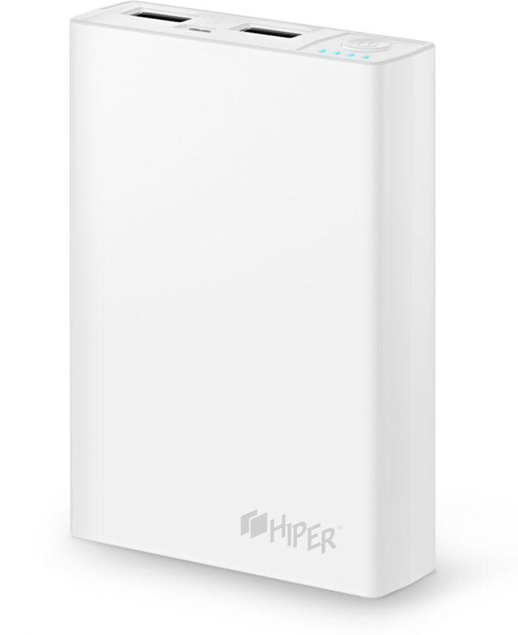 Внешний аккумулятор Hiper Power Bank RP10000 10000mAh White