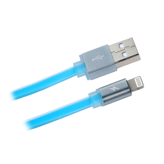 Аксессуар Remax Colorful Cable for iPhone 6 Blue RM-000158