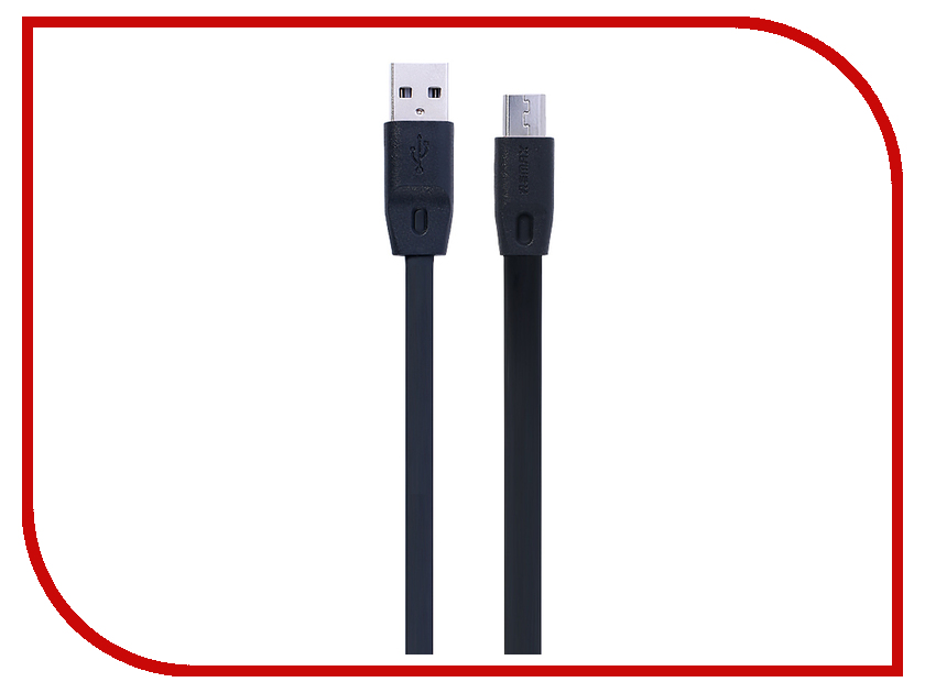 Аксессуар Remax MicroUSB Full Speed Cable Black 150cm RM-000153<br>
