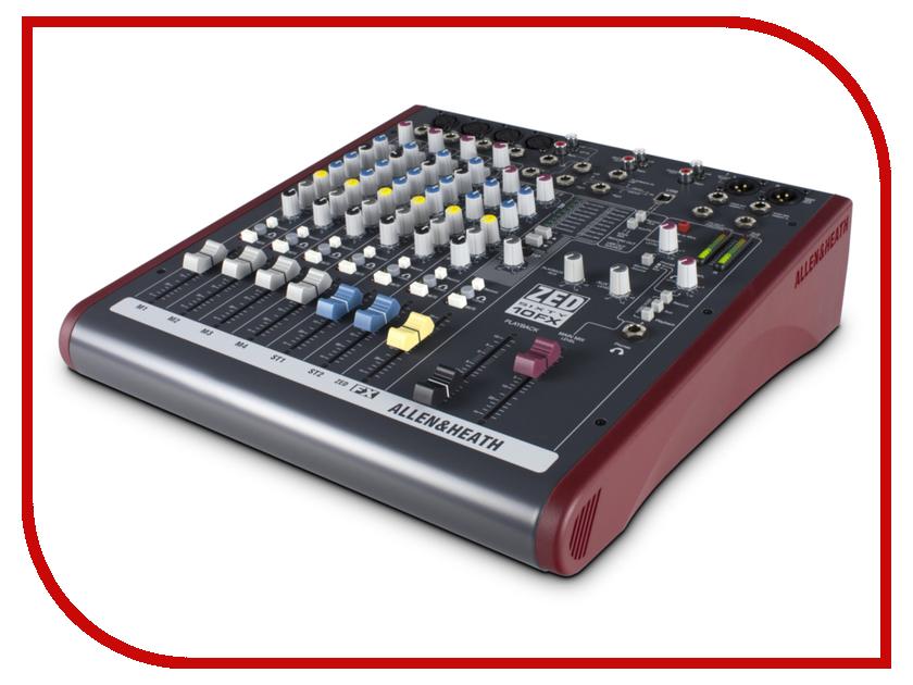 Пульт Allen &amp; Heath ZED60-10FX<br>