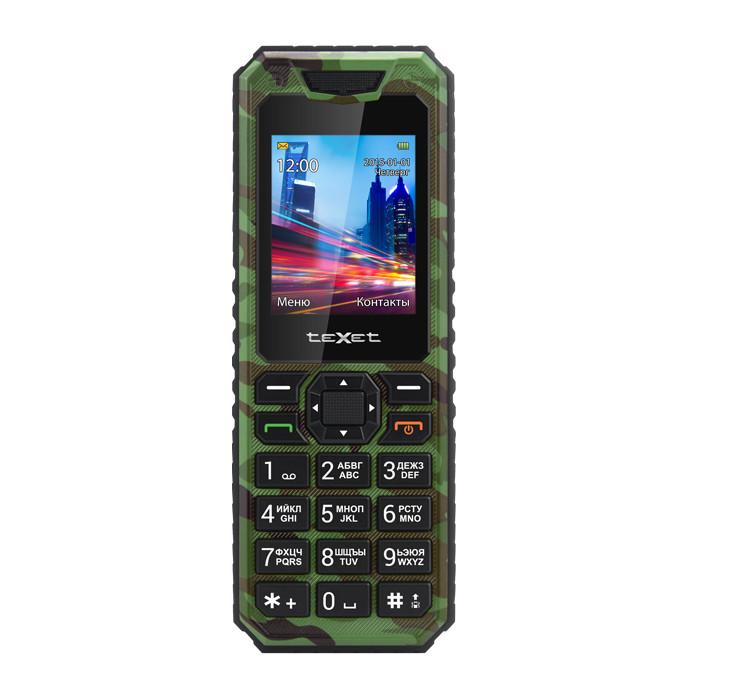 Сотовый телефон teXet TM-D302 Khaki<br>