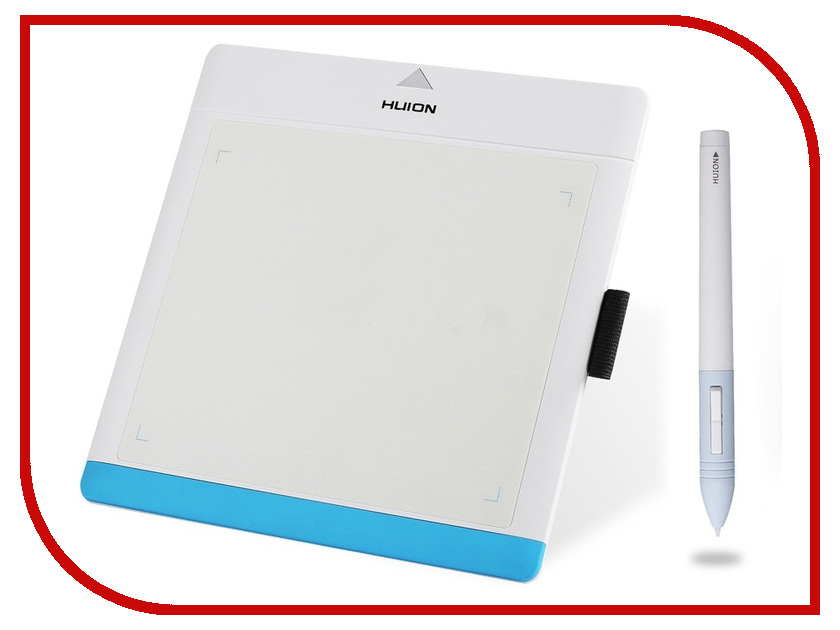 Графический планшет Huion 680TF White-Blue