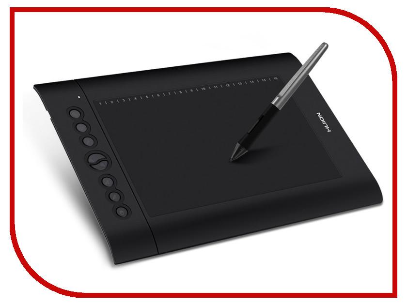 Графический планшет Huion H610PRO графический планшет huion 680tf black silver