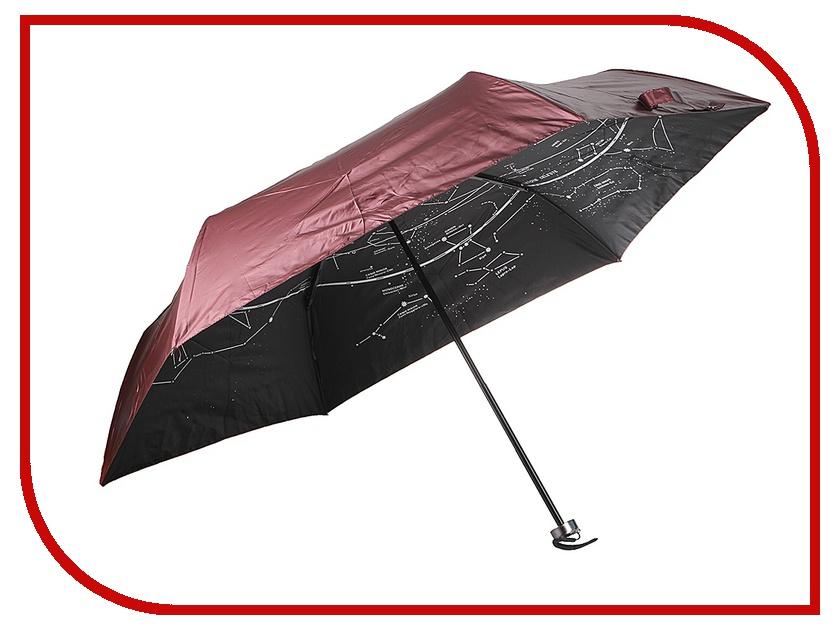 Зонт Эврика Звездное небо Red 96778