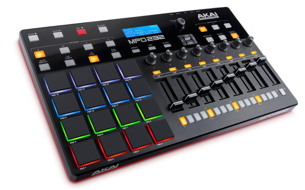 MIDI-контроллер AKAI pro MPD232 midi контроллер alesis samplepad pro