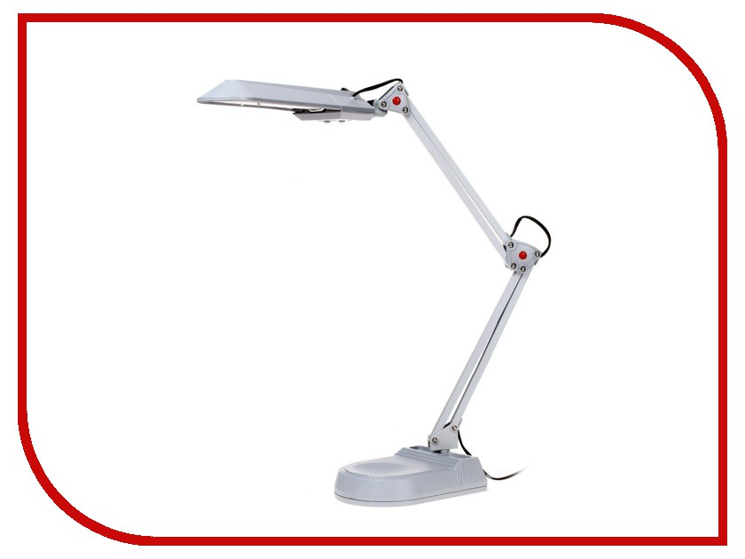 Настольная лампа Эра NL-202-G23-11W-GY Grey C0041461 эра nl 255 g10q 13w gr