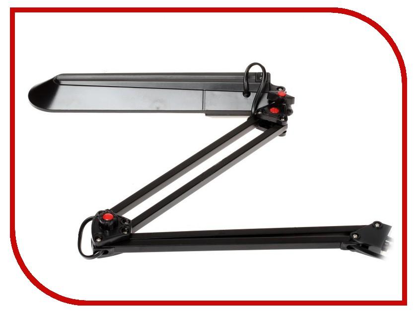 Настольная лампа Эра NL-201-G23-11W-BK Black C0041456 эра nl 255 g10q 13w gr