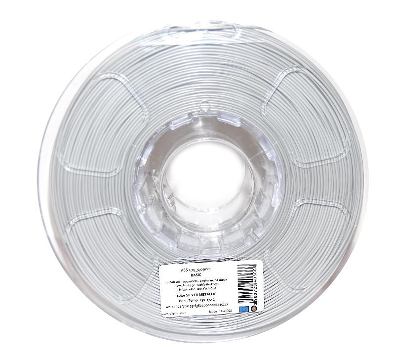 Аксессуар U3Print ABS-пластик 1.75mm 1кг Silver Metallic HP