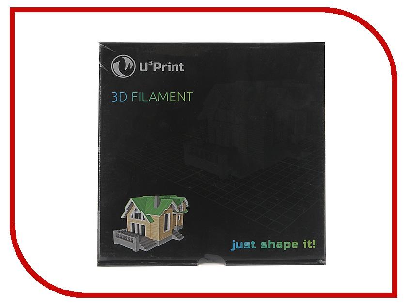 Аксессуар U3Print ABS-пластик 1.75mm 1кг Mandarine Fluory HP аксессуар u3print pla пластик 1 75mm 1кг sunflower fluory hp