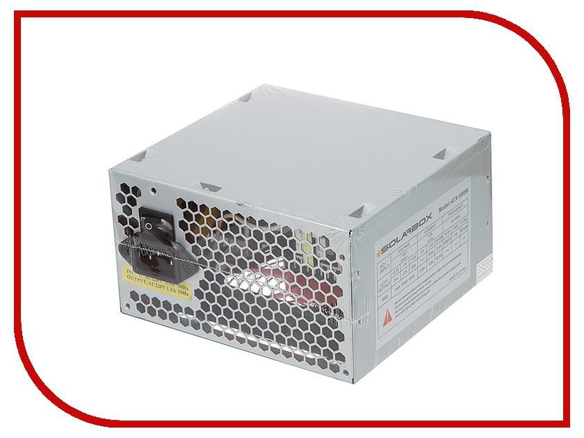 Блок питания SolarBox ATX-600W<br>
