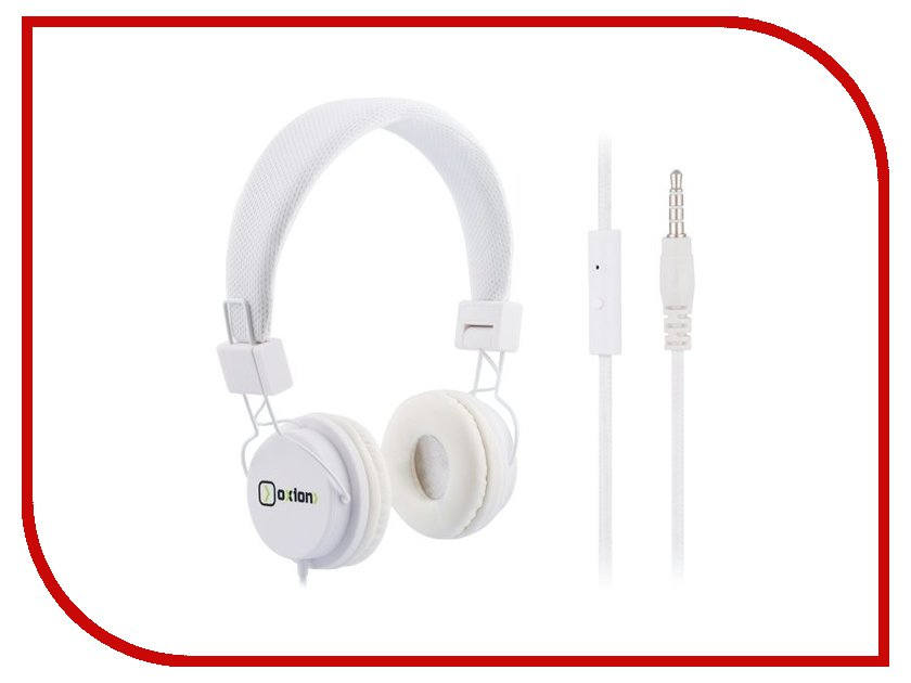 Гарнитура Oxion HS888 White HSO888WH
