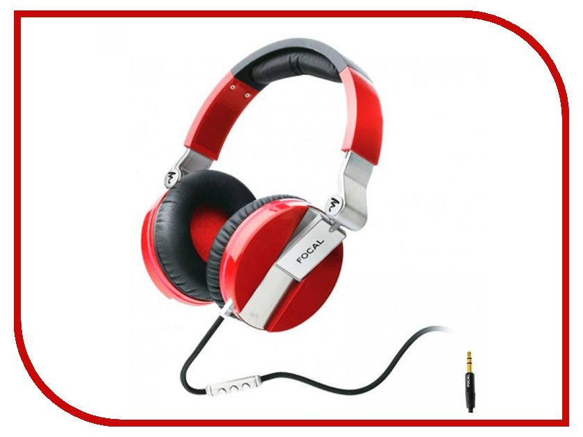 Гарнитура Focal Spirit One Red