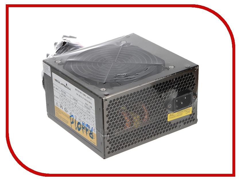 Блок питания SolarBox ATX-500W Floppy<br>