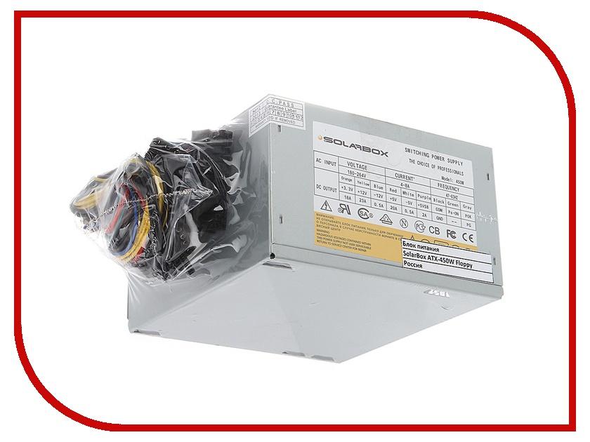 Блок питания SolarBox ATX-450W Floppy<br>