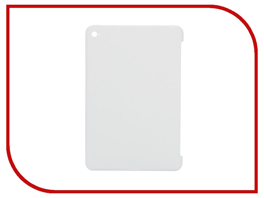Аксессуар Чехол APPLE iPad mini 4 Silicone Case White MKLL2ZM/A