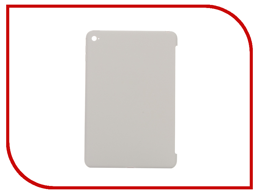 Аксессуар Чехол APPLE iPad mini 4 Silicone Case Stone MKLP2ZM/A