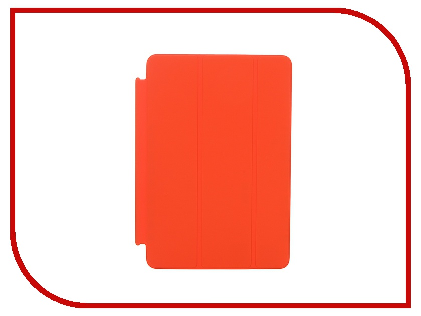 Аксессуар Чехол APPLE iPad mini 4 Smart Cover Orange MKM22ZM/A