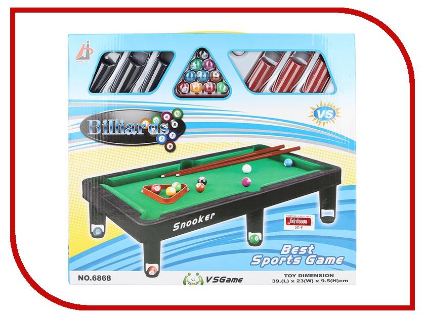 Настольная игра Shantou Gepai Бильярд 6868A настольная игра 1toy бильярд т52443
