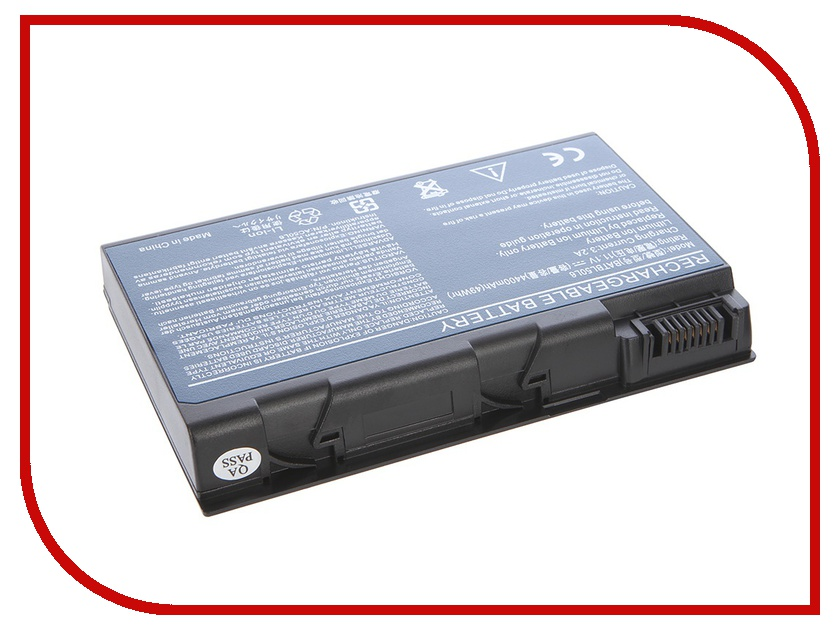 Аккумулятор Tempo LPB-50L6 11.1V 4400mAh for Acer Aspire 3100/3690/5100/5110/5610/5630/5680/9110/9800 Series TravelMate/2490/3900/4200/4230/4260/4280/5210/5510 Series