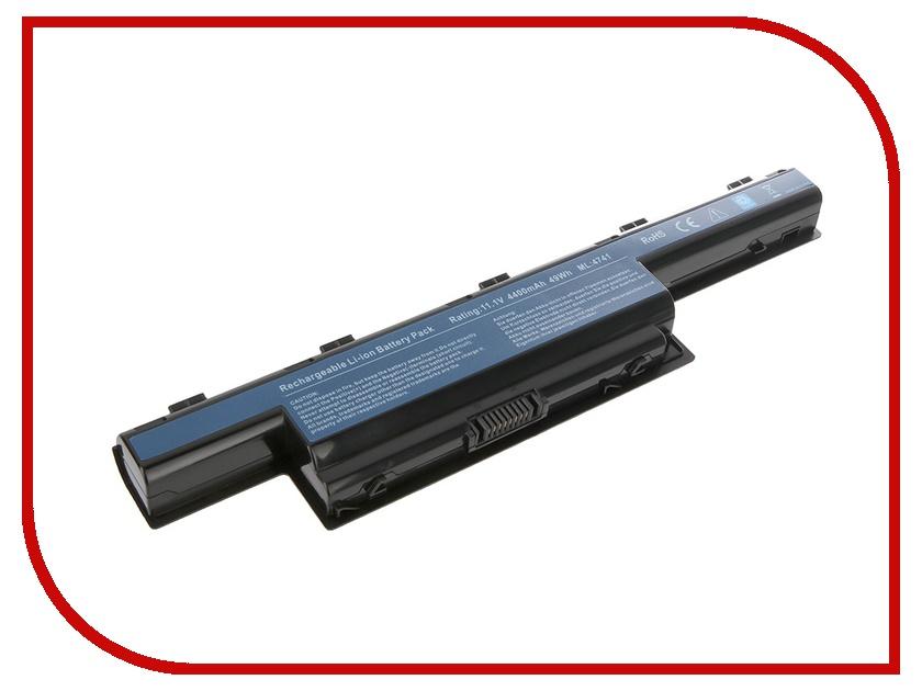 Аккумулятор Tempo LPB-5551 11.1V 4400mAh for Acer Aspire 4551G/4741/4771G/5253/5333/5551/5741G/5750G/7551G/7741G/V3