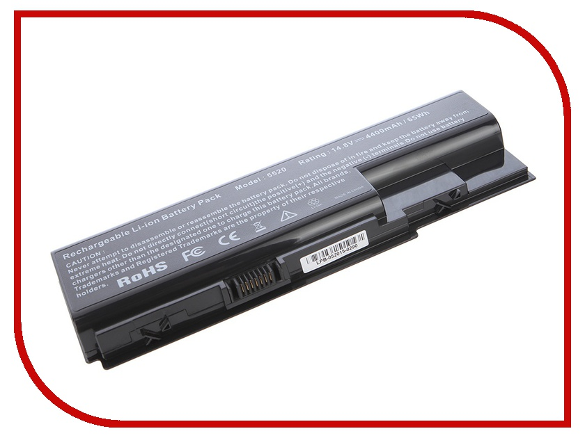Аккумулятор Tempo LPB-5920H 14.8V 4400mAh for Acer Aspire 5310/5315/5520/5720/5920/5930/6530/6930/8730/7520/7720/7730/7230/7620/7630<br>