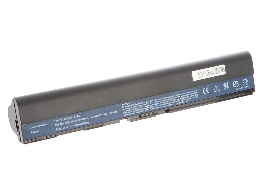 Аккумулятор Tempo LPB-756 11.1V 4400mAh for Acer Aspire One 725/756/V5-131/V5-171 TravelMate/B113