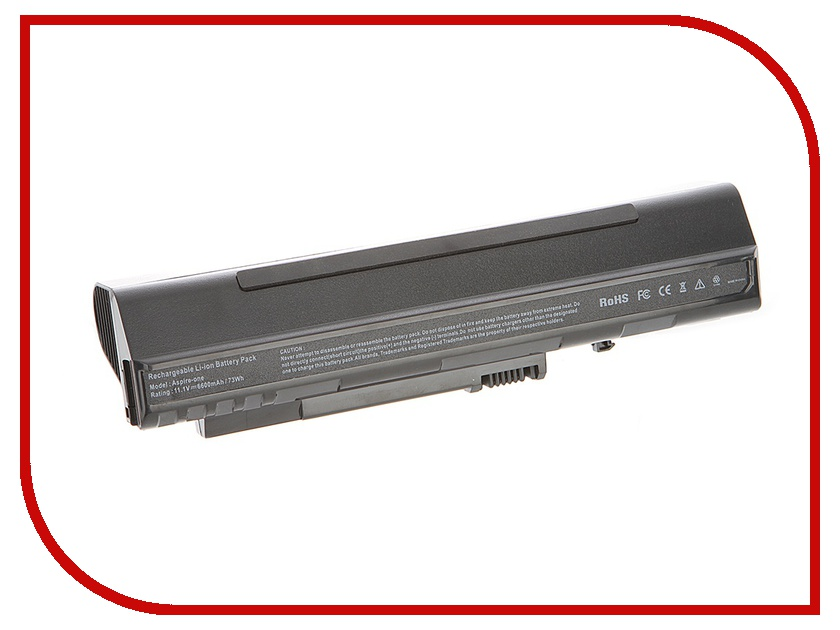 Аккумулятор Tempo LPB-A150H 11.1V 6600mAh for Acer Aspire One A110/A150/D250/eMachines 250/ZG5 Series