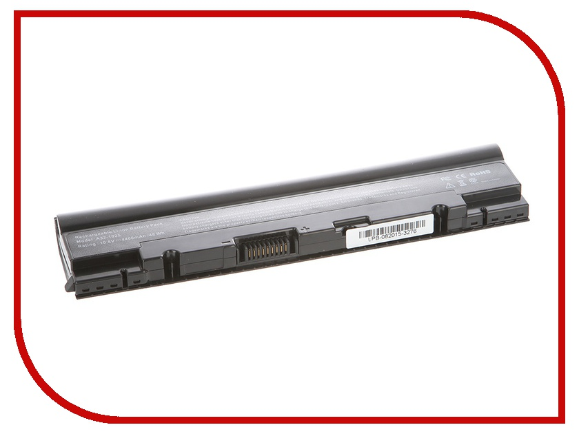 Аккумулятор Tempo LPB-1025 10.8V 4400mAh for ASUS Eee PC 1025/1025C/1025CE/1225B/1225C/R052 Series<br>