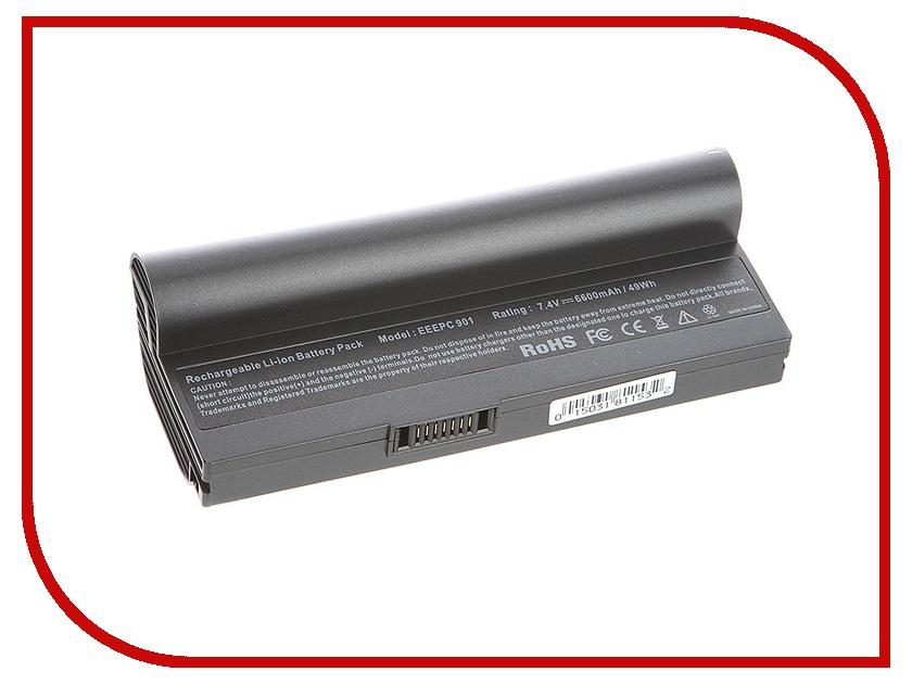 Аккумулятор Tempo LPB-901 7.4V 6600mAh for ASUS Eee PC 901/904HD/1000HD/1000HA/1000HE/1200 Series