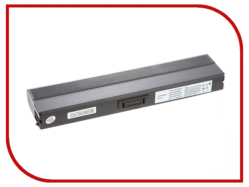 Аккумулятор Tempo LPB-F9 11.1V 4400mAh for ASUS F6/F9/F9Dc/F9E/F9F/F9J/F9S Series