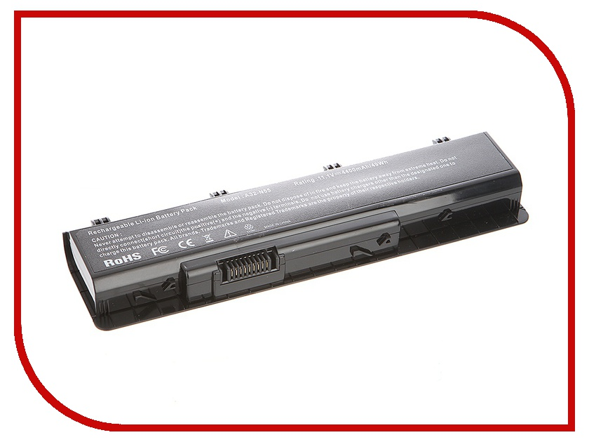 Аккумулятор Tempo LPB-N55 10.8V 4400mAh for ASUS N45/N55/N75 Series<br>