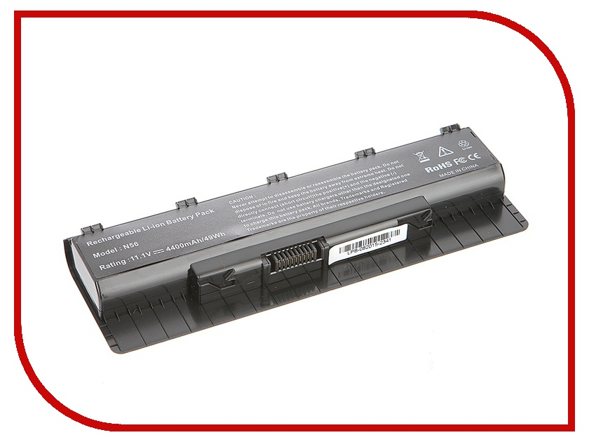 Аккумулятор Tempo LPB-N56 11.1V 4400mAh for ASUS N46/N56/N76 Series<br>