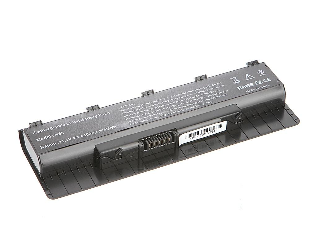 Аккумулятор Tempo LPB-N56 11.1V 4400mAh for ASUS N46/N56/N76 Series<br>