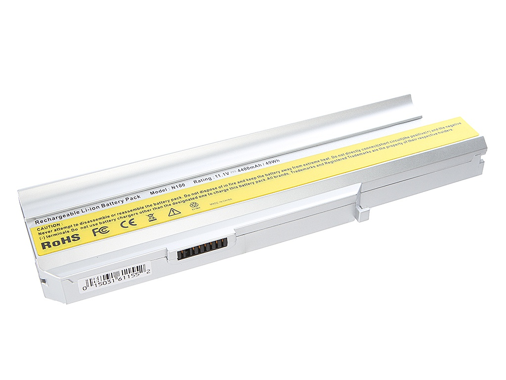 Аккумулятор Tempo LPB-N100 10.8V 4400mAh for Lenovo 3000/N100/N200/C100/C200 Series