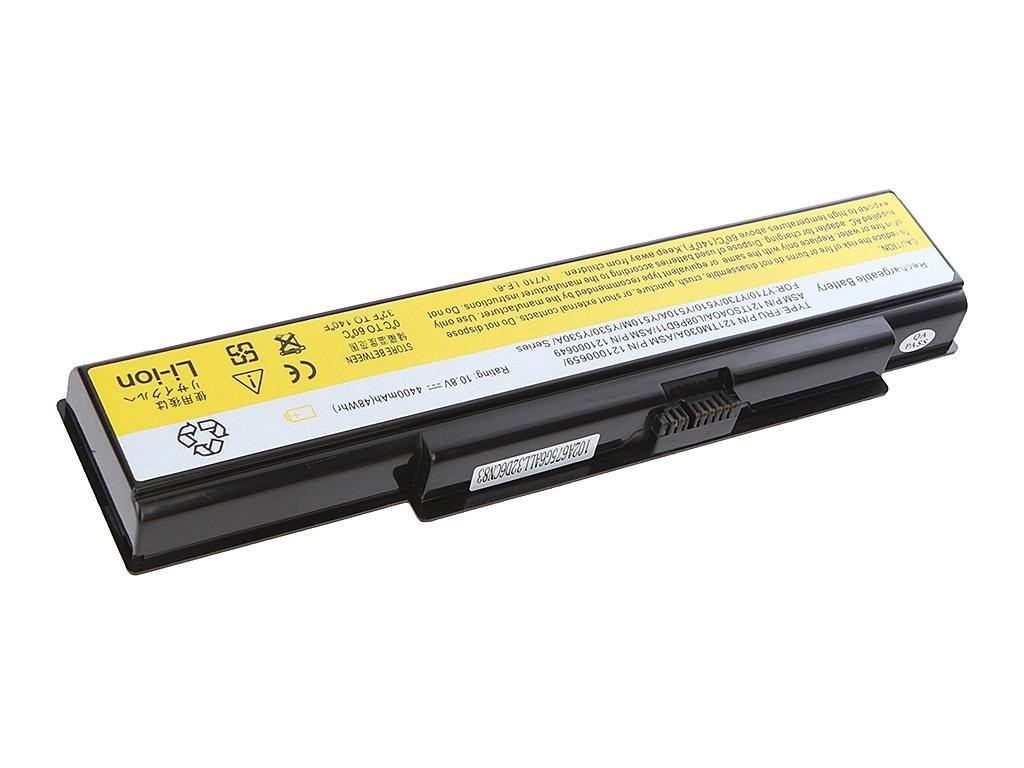 Аккумулятор Tempo LPB-Y510 11.1V 4400mAh for Lenovo 3000/Y500/Y510a IdeaPad/V550/Y510/Y530a/Y710/Y730a Series