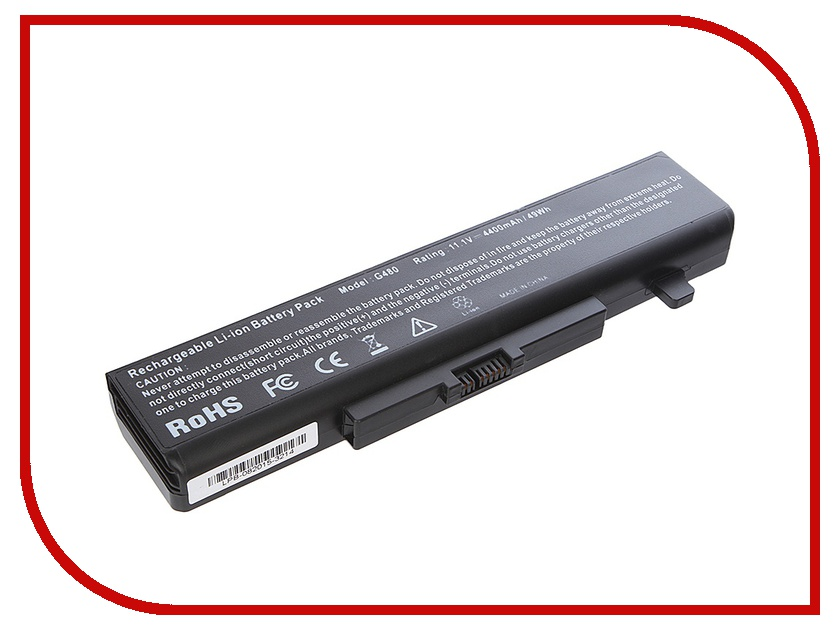 Аккумулятор Tempo LPB-G480 11.1V 4400mAh for Lenovo IdeaPad B480/B485/B580/B585/G480/G485/G580/G585/G780/N581/N586/V480/V580/Y480/G500/G700/B590