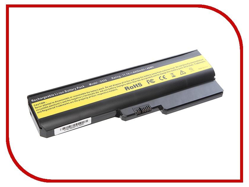 Аккумулятор Tempo LPB-G550 11.1V 4400mAh for Lenovo IdeaPad G555/G550/G530/B550/G430/G455/B460/G450 Series аккумулятор tempo lpb k50 11 1v 4400mah for asus k40 k50 k51 k60 k61 k70 p50 p81 f52 f82 x65 x70 x5 x8