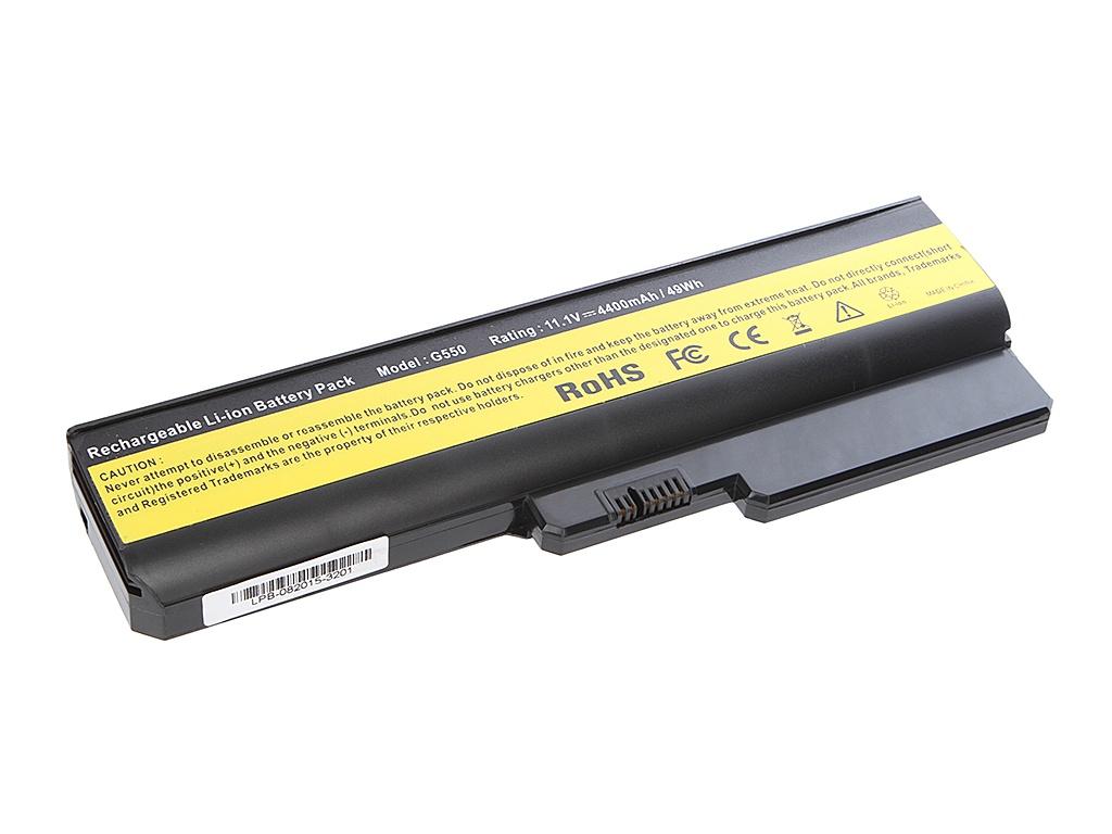 Аккумулятор Tempo LPB-G550 11.1V 4400mAh for Lenovo IdeaPad G555/G550/G530/B550/G430/G455/B460/G450 Series<br>