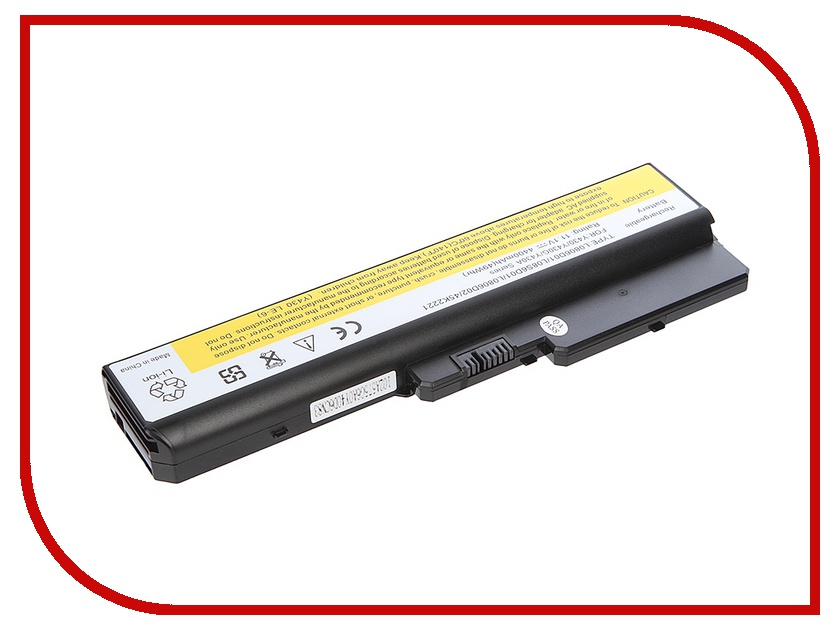 Аккумулятор Tempo LPB-Y430 11.1V 4400mAh for Lenovo IdeaPad Y430/V450/B430/N500 Series<br>