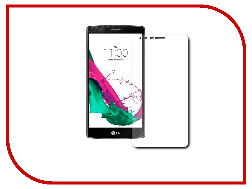 Аксессуар Защитное стекло LG G4C H522y Gecko 0.26mm ZS26-GLGG4C