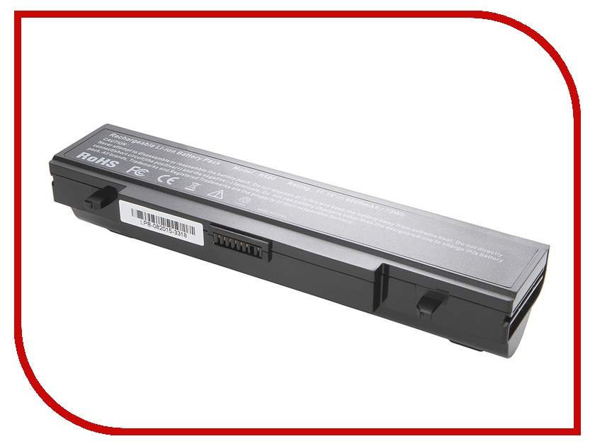 Аккумулятор Tempo LPB-R519H 11.1V 6600mAh for Samsung R425/R428/R430/R468/R470/R478/R480/R505/R507/R510/R517/R519/R522/R528/R730/RV410/RV440/RV510/RF511/RF711