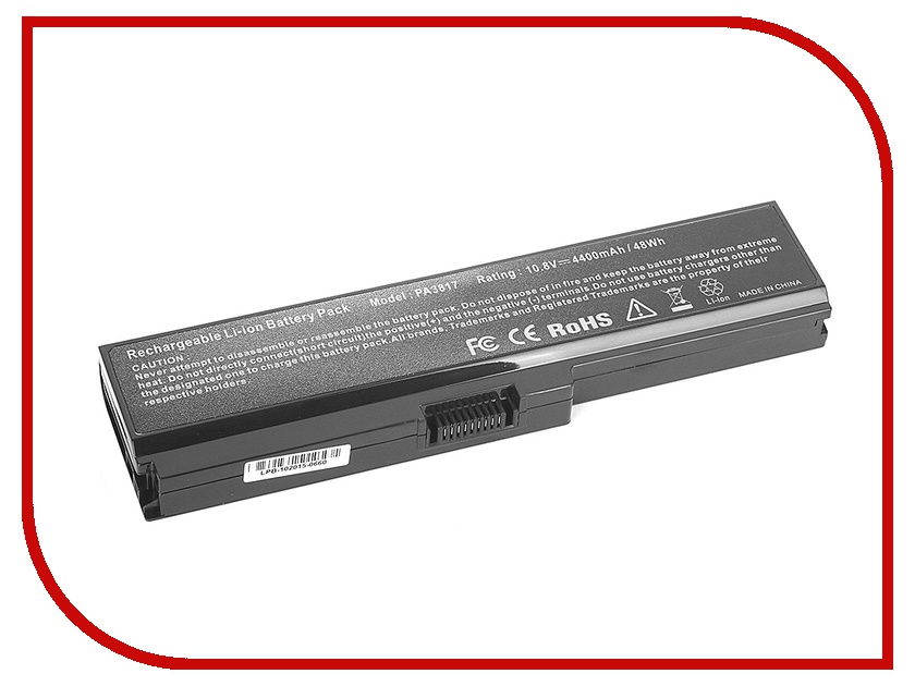 ����������� Tempo LPB-PA3817 for Toshiba Satellite A660/A665/C600/C645/C650/C655/C660/C670/L515/L537/L630/L635/L640/L650/L670/L700/L770/P750/M500/U400/U500