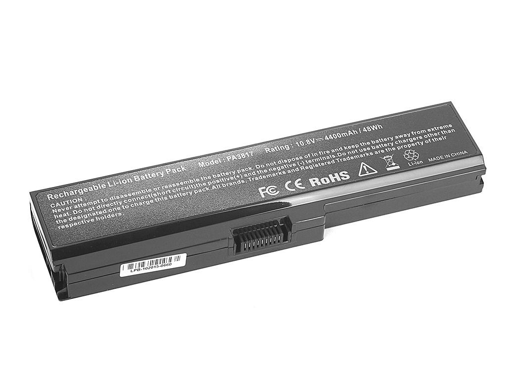 Аккумулятор Tempo LPB-PA3817 for Toshiba Satellite A660/A665/C600/C645/C650/C655/C660/C670/L515/L537/L630/L635/L640/L650/L670/L700/L770/P750/M500/U400/U500<br>